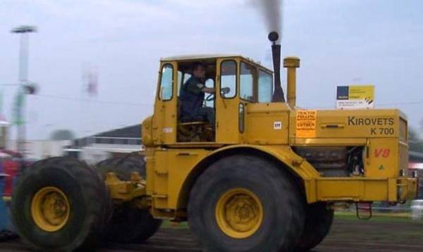 К-700 (трактор): технические характеристики, устройство