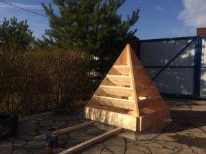 Грядка-пирамида для клубники: описание, преимущества, схема изготовления