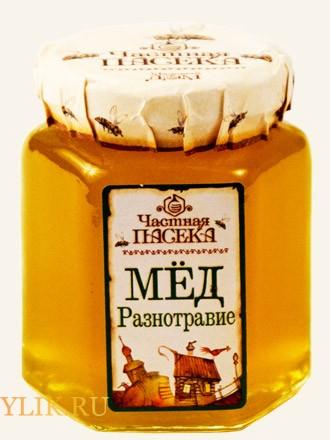 Мед из разных трав (полифлерный) - всегда неповторимый