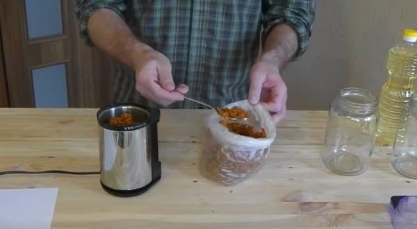 Облепиховое масло в домашних условиях рецепт