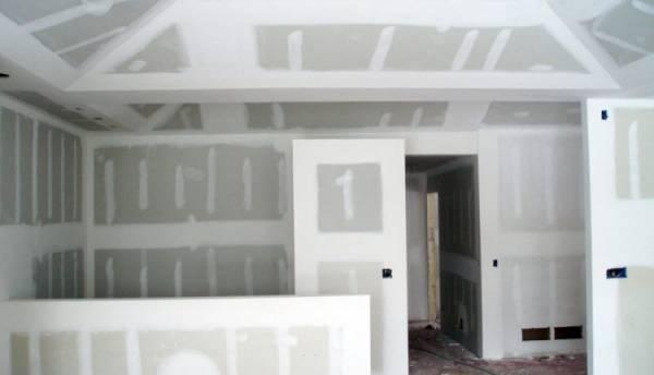 Как производится обшивка гипсокартоном стен