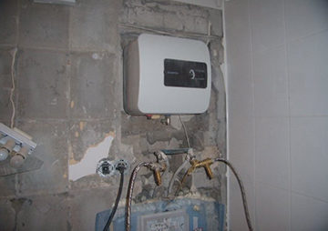 Установка проточного водонагревателя - алгоритм монтажа