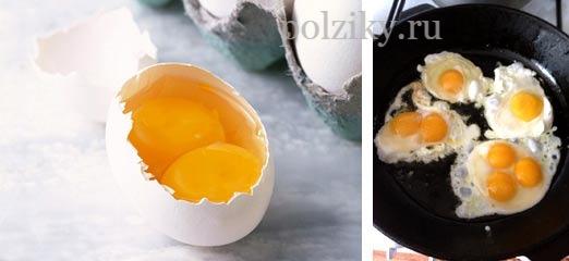 Почему яйца с двумя желтками - какая примета