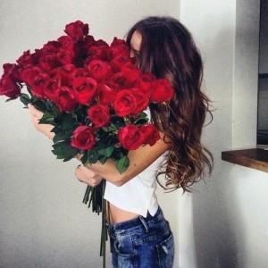 51 роза или букет сердце из роз - лучший подарок для девушки