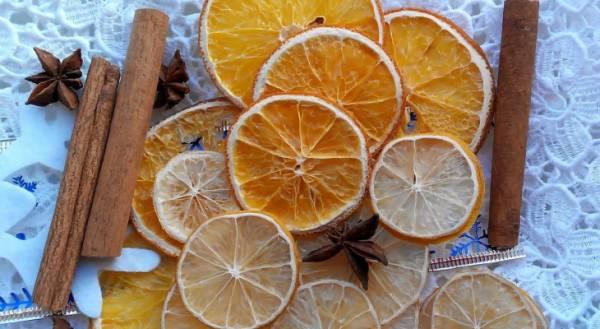 Способы сушки лимона для декора