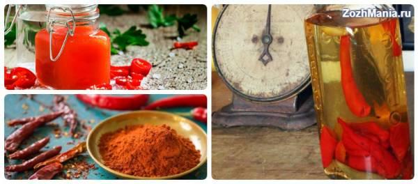 Красный жгучий перец: полезные свойства и способы применения