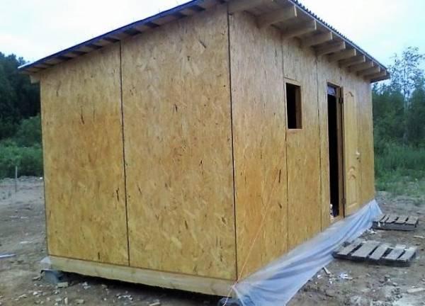 Из чего построить сарай на даче дешево и быстро