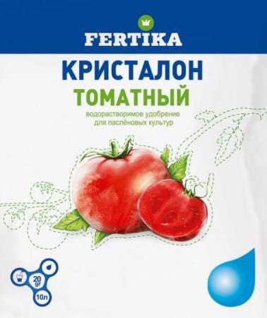Удобрение Кристалон - применение для томатов