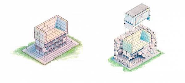 Строим мангал из камней самостоятельно, лучшие идеи с примерами