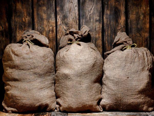 Температура, и способы хранения картофеля
