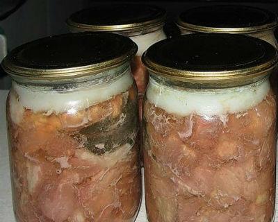 Тушенка из курицы в домашних условиях способы приготовления и рецпепты