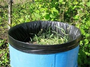 Подробности приготовления зеленого удобрения из травы